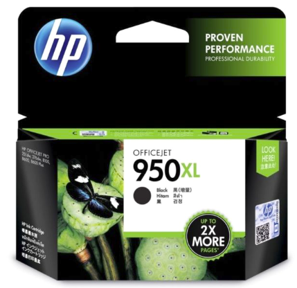HP 950XL Black Cartridge