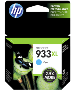 HP 933XL Cyan Cartridge