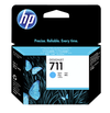 HP 711 Cyan Cartridge