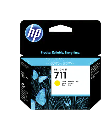 HP 711 Yellow Cartridge