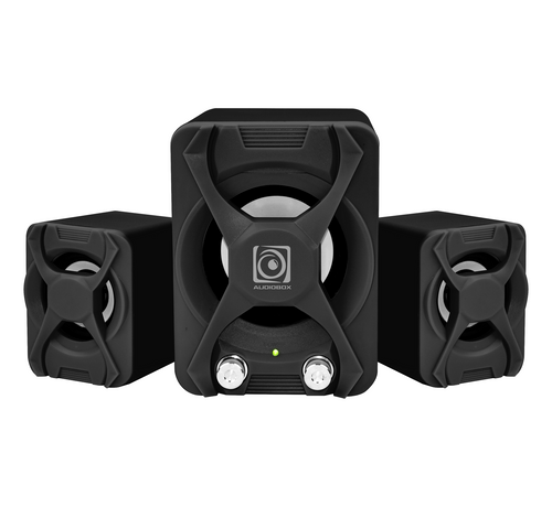 Alcatroz X-Audio 2.1 USB Powered Speakers 22W Black