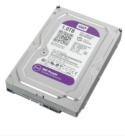 WD 1TB Sata Purple Hard Disk