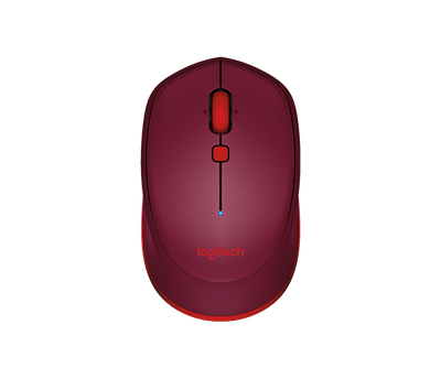 Logitech Bluetooth Mouse M337 - Black/Red