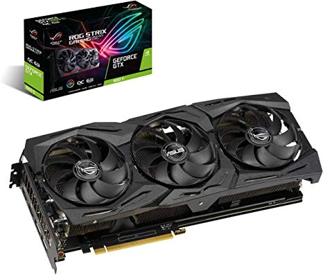 ASUS ROG-STRIX-GTX1660TI-O6G-GAMING Graphics Card