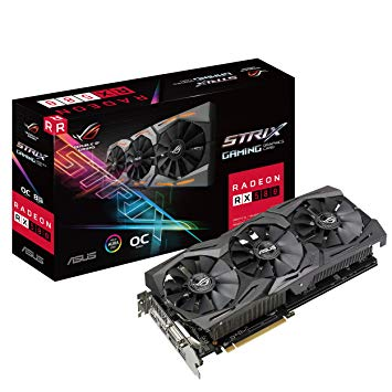 Asus ROG-STRIX-RX580-O8G-GAMING VGA Card