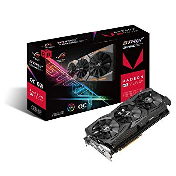 Asus ROG-STRIX-RXVEGA56-O8G-GAMING Overview VGA Card