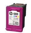 HP 680 Tri-Color Cartridge