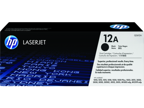 HP (12A) Q2612A Toner Cartridge