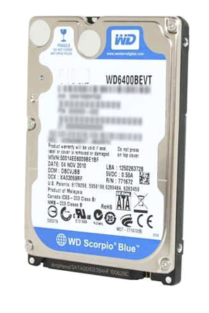 WD 500GB Laptop Sata Blue Hard Disk