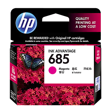 HP 685 Magenta Cartridge