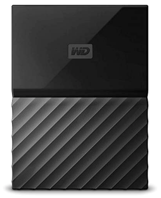 WD 2TB Ext My Passport Hard Disk