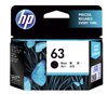 HP (63) Black F6U62AA Cartridge