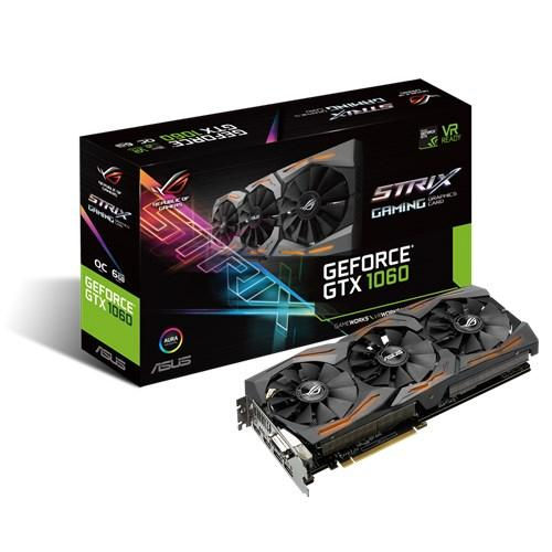 Asus ROG STRIX-GTX1060-O6G-GAMING VGA Card