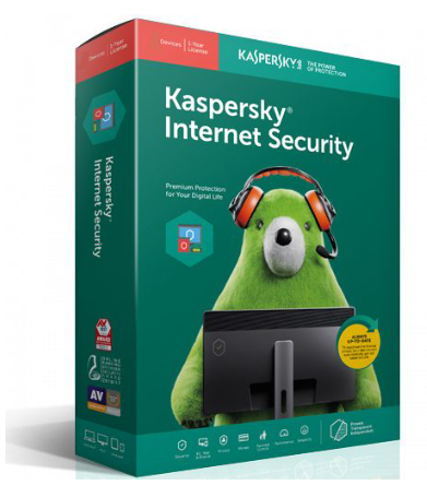 Kaspersky Internet Security 2019 1-User