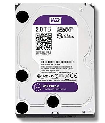 WD 2TB Sata Purple Hard Disk