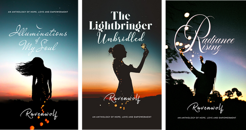 Book covers of Ravenwolf's Light Series