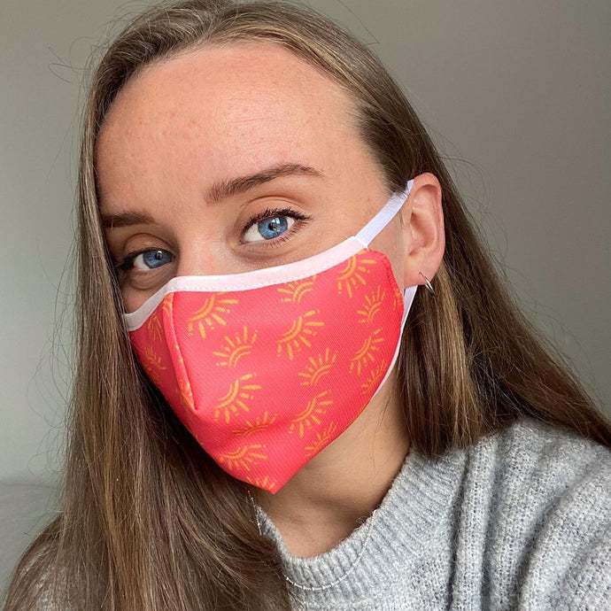 2x Reusable Face Masks