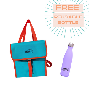Cooler Bag + FREE Reusable Bottle