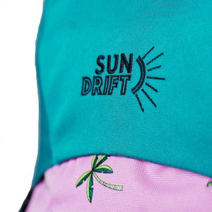 sun drift backpack logo