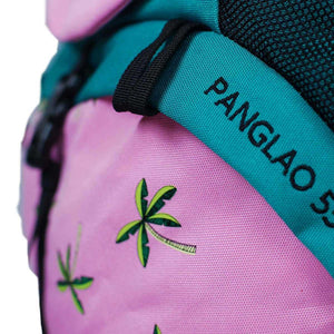 panglao backpack logo and pattern