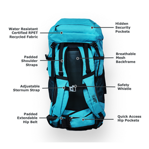 55L Pack + Quick-Dry Towel