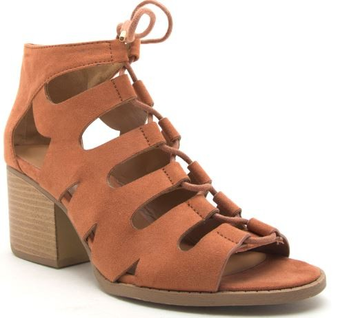 Cici Lace Up Sandals-Qupid-Cute-Womens-Boutique-Clothing-Shop-Emporium B