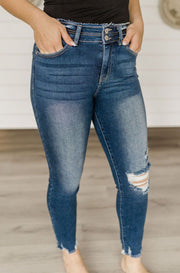 Katy High Rise Ankle Skinny Jeans-KanCan-Cute-Womens-Boutique-Clothing-Shop-Emporium B