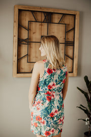 Jaide Floral Wrap Dress-Everly-Cute-Womens-Boutique-Clothing-Shop-Emporium B