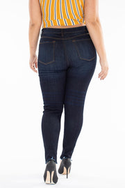 + Montana Button Fly KanCan Skinny Jeans-KanCan-Cute-Womens-Boutique-Clothing-Shop-Emporium B