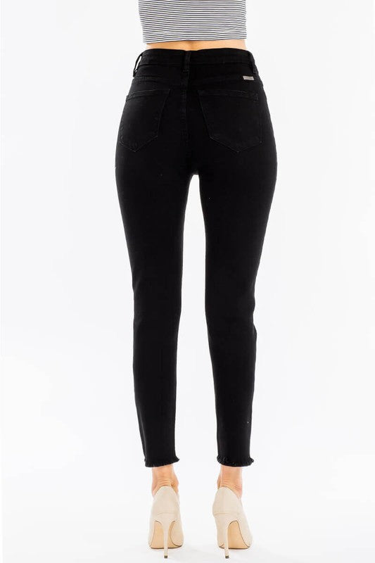 Maggie Black KanCan Skinny Jeans-KanCan-Cute-Womens-Boutique-Clothing-Shop-Emporium B