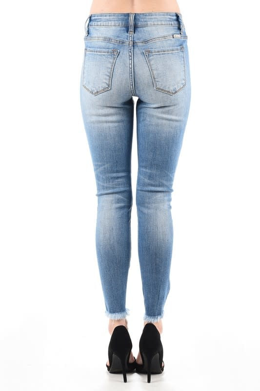 Augustana Distressed KanCan Skinny Jeans-KanCan-Cute-Womens-Boutique-Clothing-Shop-Emporium B