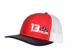 Red/White/Blue Snapback