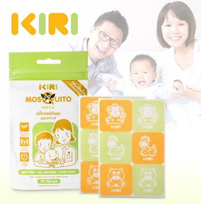 KIRI Mosquito Patch - BUY 5 Packet Promo