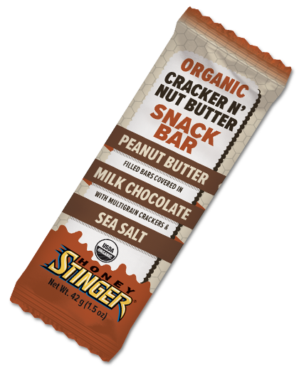 Honey Stinger Cracker N' Nuts Butter Snack Bar