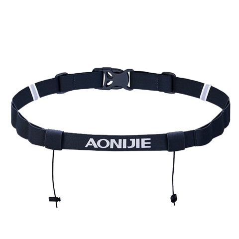AONIJIE E4076 Running Race Number Belt with Energy Gel Loops
