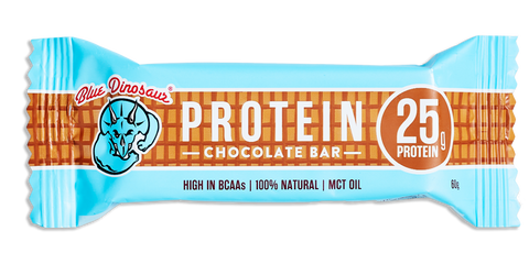 Blue Dinosaur Protein Bar - Chocolate