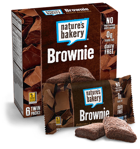 Nature's Bakery Double Chocolate Brownies