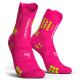 Compressport Pro Racing Socks V3.0 - Trail (Fluorescent Pink)