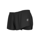 Compressport Racing Split Short - Black