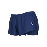 Compressport Racing Split Short - Dark Blue