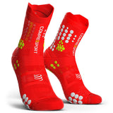 Compressport Pro Racing Socks V3.0 - Trail (Red)