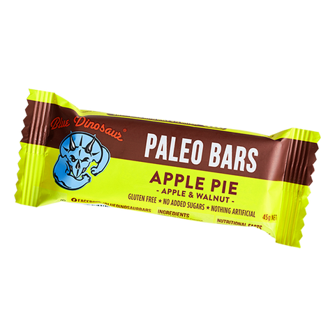Blue Dinosaur Paleo Bar - Apple Pie