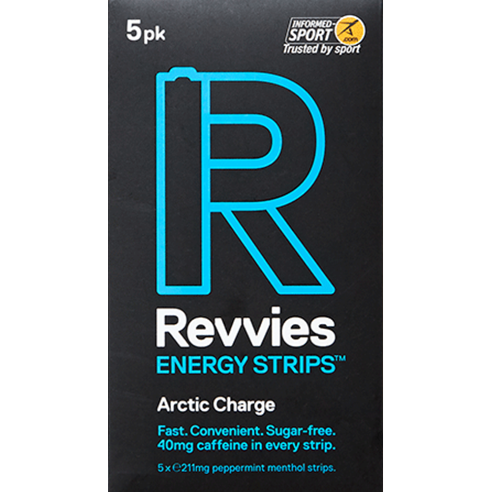 Revvies Energy Strips (Each pack contains 5 strips)