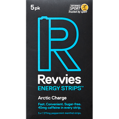 Revvies Energy Strips - ARCTIC CHARGE (Each pack contains 5 strips)
