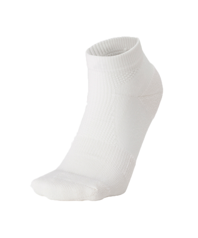 C3fit Paper Fiber Arch Support Short Socks White