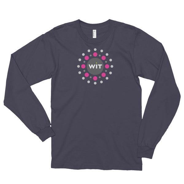 Women in Toys Long-Sleeve Tee - Asphalt (unisex)
