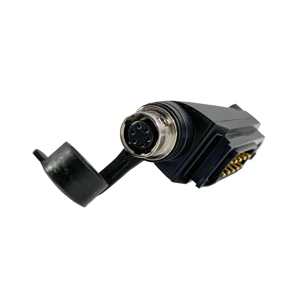 Tactical Radio Adapter/PTT for Headset(Hirose Adapter System): Peltor, TCI, TEA, Helicopter - Quick Disconnect Harris(L3Harris)/Tait TP3000, TP3300, TP3350, TP3500, TP8100, TP8110, TP8115, TP8120, TP8135, TP8140, TP9300, TP9355, TP9360, TP9400, TP9435, TP9440, TP9445, TP9460 & More