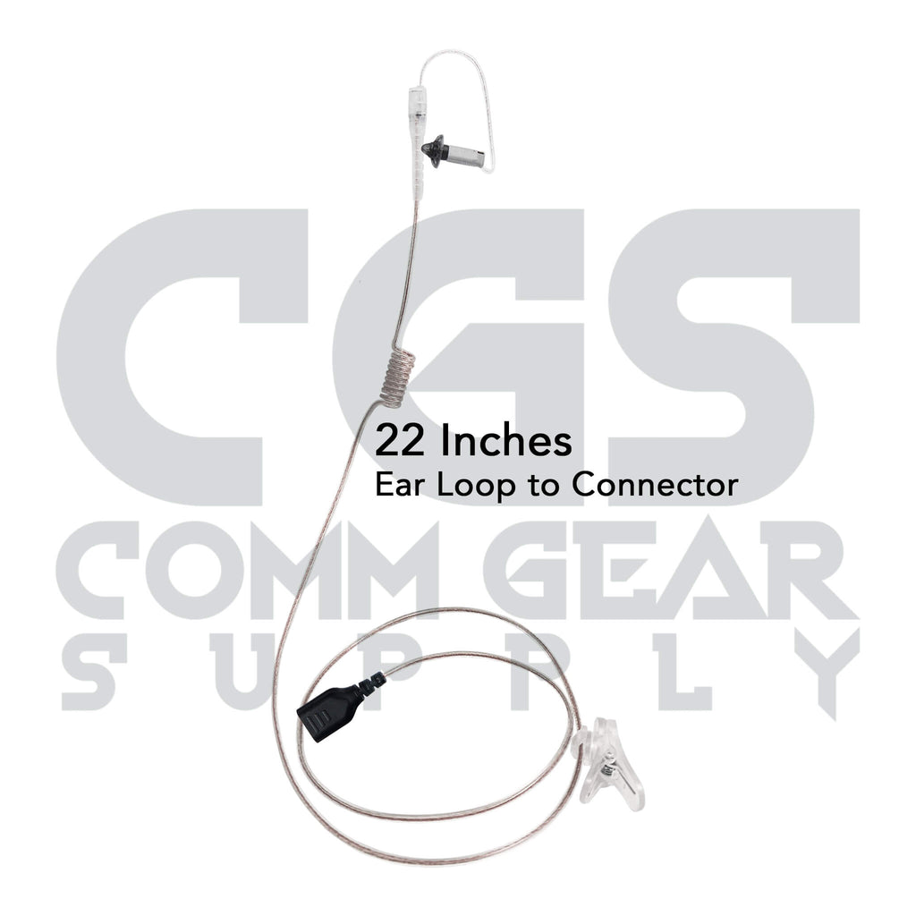 sidekick Discrete clear tube monitor only ifb earpiece 3.5mm mini plug anchor broadcaster ear prompter on camera on stage Lectrosonics, Clear-Com, Telex, Comrex, Comtek, Phonak, Studio Technologies, JK Audio, iPhone, Android, SoundTap, Pro Intercom, Shure, Galaxy Audio, Glen Sound, Sennheiser otto
