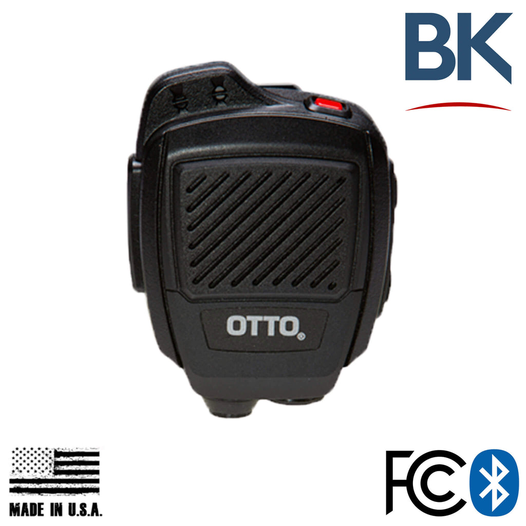 V2-R2BT53133-Bluetooth OTTO USA Made Speaker Mic For BK Radio KNG Series