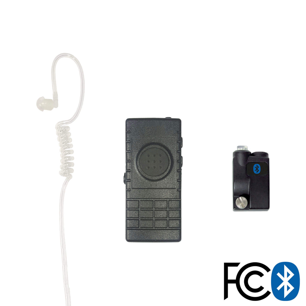 Bluetooth Lapel/Utility Mic & Earpiece Kit w/ Adapter For Icom: F30/40/50/M88 pryme BTH-300-BT-510